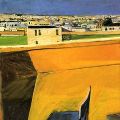 Richard Diebenkorn April 1922 – March was a American painter. His early work is associated with Abstract expressionism and the Bay Area Figurative Movement of the and Richard Diebenkorn, Wayne Thiebaud, Contemporary Landscape, Urban Landscape, Landscape Art, Robert Motherwell, Helen Frankenthaler, Jasper Johns, Mondrian