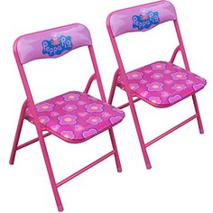 Kids' Folding Chairs - Peppa Pig Folding Chairs 2 Pack * Find out more about the great product at the image link.
