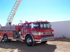 Oro Vista Volunteer Fire Department - Alamogordo, New Mexico #niceride #firetrucks #setcom  http://setcomcorp.com/integrated-seat-communications.html