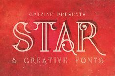 Unique font megabundle with 12 font families with 57 fonts in retro, vintage or grunge style! With this deal you get: - 12 font families with 57 custom fonts! Creative Fonts, Cool Fonts, New Fonts, Pretty Fonts, Beautiful Fonts, Business Brochure, Business Card Logo, Sans Serif, Typeface Font