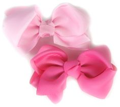 DIY Boutique Bows : Hip Girl Boutique - , Ribbons, Hair Bows, Hair Clips, Hairbow Hardware, Free Hairbow Instructions