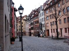 Nuremberg, Germany - I lived on a street that looked just like this 128 Hoffenerstraus.