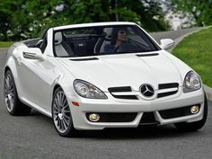 Mercedes-Benz SLK 300 Diamond White Edition. I own the 2010 version. It had only 8K when I bought it.