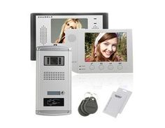 ZDL-28T1+ZDL-6380W+035C Wired Night Visual ID Unlocking Colour LCD Video Doorphone for Access Control System by QLPD. $777.38. This doorbell phone system allows you to see and to talk to visitors before opening the door.