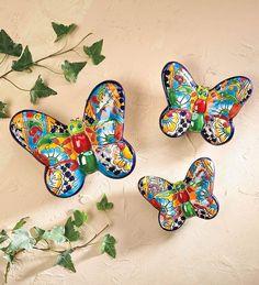 Talavera Butterflies #talavera  EU QUERO!!!!!
