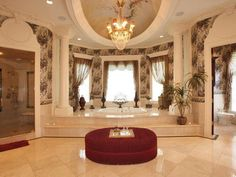 Master Bathroom at the $29 Million Grand Mansion in Alpine New Jersey