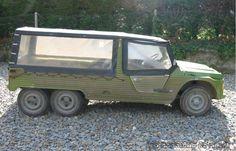 Citroen Mehari six wheeler