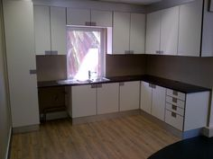 Small Office kitchen  Designed and custom made by Wooden Interior Cape Town 0215914355