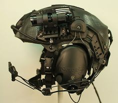"""Black Ops"" Special Forces PT Helmet Large Ops Core VAS, Peltor ARC SEAL DEVGRU | eBay"