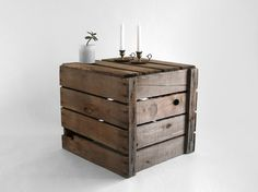 coffee table crate- mm-azing