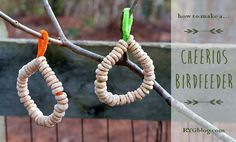 Looking for a fun way to get outside with your kids? Check out this post on how to make Cheerios Bird Feeders. You and the birds will be glad you did!
