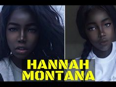 Fashion fan blog from industry supermodels: Gorgeous Model Who Calls Herself 'The Black Hannah...