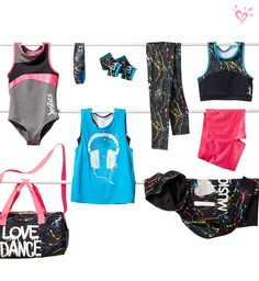 Mackenzie Ziegler for Justice Active: Made to match and made for motion.