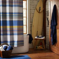 Southport Stripe Shower Curtain