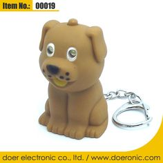 Promotion Mini Dog LED Sound Keyring Flashlight | Doer Electronic the Animals Novelty Gadgets Supplier from China, Welcome to the World of Animals Fun.