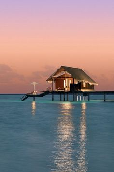 Above the water villa - Reethi Rah, Maldives   photo by Solomon Reliford on 500px