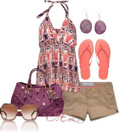 """""""Summer Days"""" by sweetlikecandycane on Polyvore"""