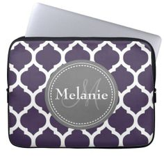 =>>Cheap          	Monogrammed Purple & Grey Quatrefoil Laptop Sleeves           	Monogrammed Purple & Grey Quatrefoil Laptop Sleeves we are given they also recommend where is the best to buyThis Deals          	Monogrammed Purple & Grey Quatrefoil Laptop Sleeves today easy to Shop...Cleck Hot Deals >>> http://www.zazzle.com/monogrammed_purple_grey_quatrefoil_laptop_sleeve-124022071224563189?rf=238627982471231924&zbar=1&tc=terrest