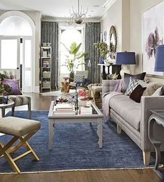 Purple and blue room love