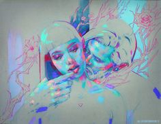 Intertwined lovers II by MartaNael.deviantart.com on @DeviantArt