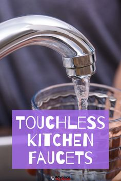 The FORIOUS Touchless Kitchen Faucet is one of the best in the market. It has a unique aesthetic look, which manages to appear traditional and modern at the same time. Touchless Kitchen Faucet, Kitchen Faucet With Sprayer, Kitchen Faucet Reviews, Best Kitchen Faucets, Pull Out Kitchen Faucet, Bathroom Faucets, Retractable Hose, Aesthetic Look, Quality Kitchens