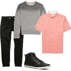 sports luxe by lo-larsen on Polyvore featuring ALDO, Officine Generale and Ben Sherman