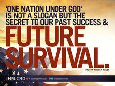 One Nation under God! #America