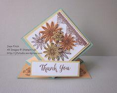 Grateful Bunch Spring Card - WW Hop 072116 - Jean Fitch