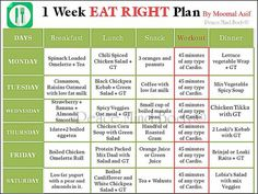 healthy meal plan to lose weight south africa