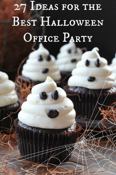 How to have the BEST Halloween office party.  #halloween #holiday #office #party