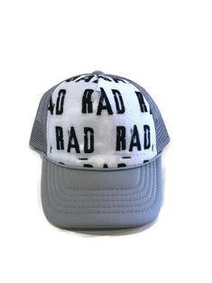b5e410b868617 RAD Minky Front Trucker Hat - Kids Trucker Hat - Snap Back Hat - Baby  Trucker Hat - Adult Trucker Hat - Kids Baseball Hat - Youth Hat