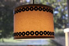 Our Pinteresting Family: Pendant Light with Washer Accents