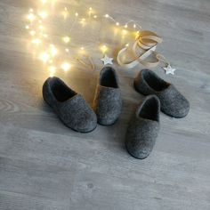 Warm gifts to your child - felted by hand, all natural and very warm!