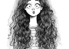 Adolecente de cabello risado mamando - 2 8