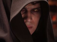Anakin Skywalker--Anakin journeys to the Dark Side...the change is almost complete -StarWars 3