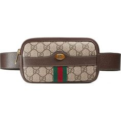 330e1909364 Gucci Ophidia Gg Supreme Belted Iphone Case ( 750) ❤ liked on Polyvore  featuring bags