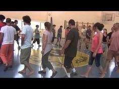▶ Bothmer Israel - Groupwork in circle & sticks (1) - YouTube