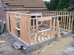 Diy Storage Shed, Diy Shed, Dormer House, Yard Benches, Main Entrance Door Design, Framing Construction, Small Bungalow, Building Foundation, House Cladding