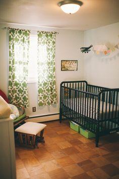 baby boy nursery, love the plane