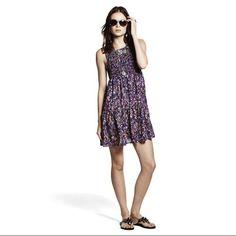 Princess Vera Wang Purple Floral Dress