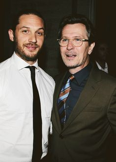 Tom Hardy and Gary Oldman #people