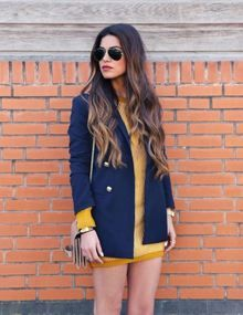 Fashion - Fashion streetstyle - Inspiration - Trending - Trend - 2014 - Spotted - Blogger - Celebs - Celebrity - Hot right now - Catwalk trends - Spot & Shop - Outfit - Ootd - Coat - Marine blue - Trending
