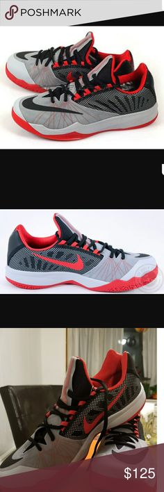 Nike Zoom Run the One Brand new with original box. Grey/Black/Red Nike Shoes Athletic Shoes