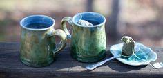 Edgecomb Potters. beautiful glaze.