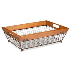 Wire Rectangle Tray- Small - Target $30 The Industrial Shop™