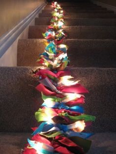 "Here I was, just yesterday, googling ""ideas for scraps of ribbon""  and then I see this!  I think I will make this over the weekend with all of my old ribbon scraps!"