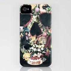Vintage Skull iPhone Case -- Beautiful!