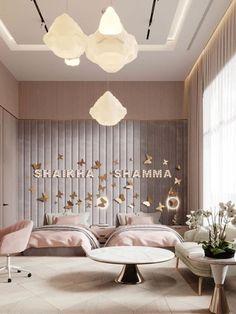 Kids Bedroom Designs, Baby Room Design, Room Design Bedroom, Home Room Design, Modern Bedroom, Interior Design Living Room, Bedroom Decor, Bedroom Ideas, Luxury Kids Bedroom