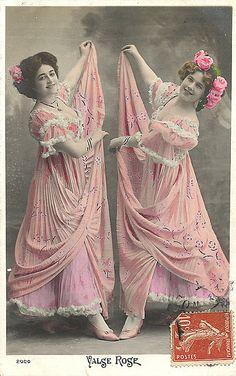 Vintage Tinted Photo of Dancers