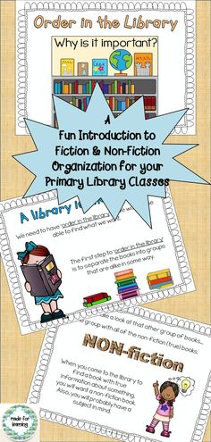 A 2-part presentation for library classes about call letters and call numbers  $